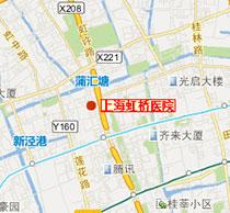 去上海虹桥医院路线图
